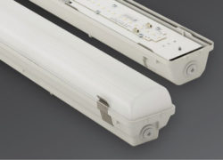 Svetilka, prahotesna, Basic linear LED 771, PHILIPS, 70W, 1500mm, 10500lm, siva
