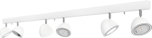 Notranja svetilka stropna, VESPA WHITE VI, Nowodvorski, 6x, GU10, bela