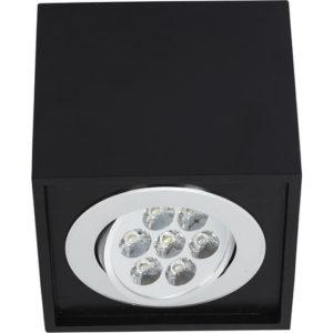 Notranja Stenska, BOX LED BLACK, Nowodvorski, 8,5W, IP20