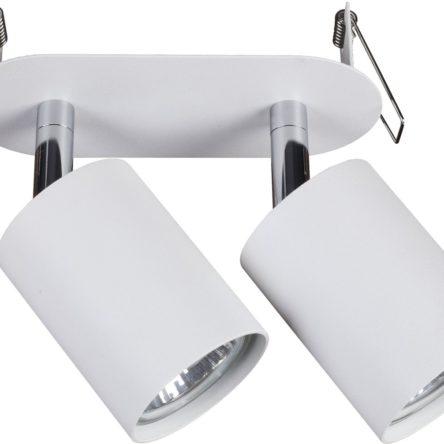 Notranja svetilka stropna vgradna, EYE FIT WHITE II, Nowodvorski, 2x GU10, bela