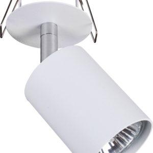 Notranja svetilka stropna vgradna EYE FIT I, WHITE, Nowodvorski, GU10, bela
