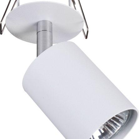 Notranja svetilka stropna vgradna, EYE FIT WHITE I, Nowodvorski, 1x GU10, bela