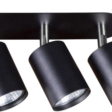 Notranja svetilka stropna vgradna, EYE FIT BLACK III, Nowodvorski, 3x GU10, črna