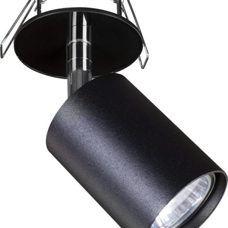 Notranja svetilka stropna vgradna, EYE FIT BLACK I, Nowodvorski, 1x GU10, črna