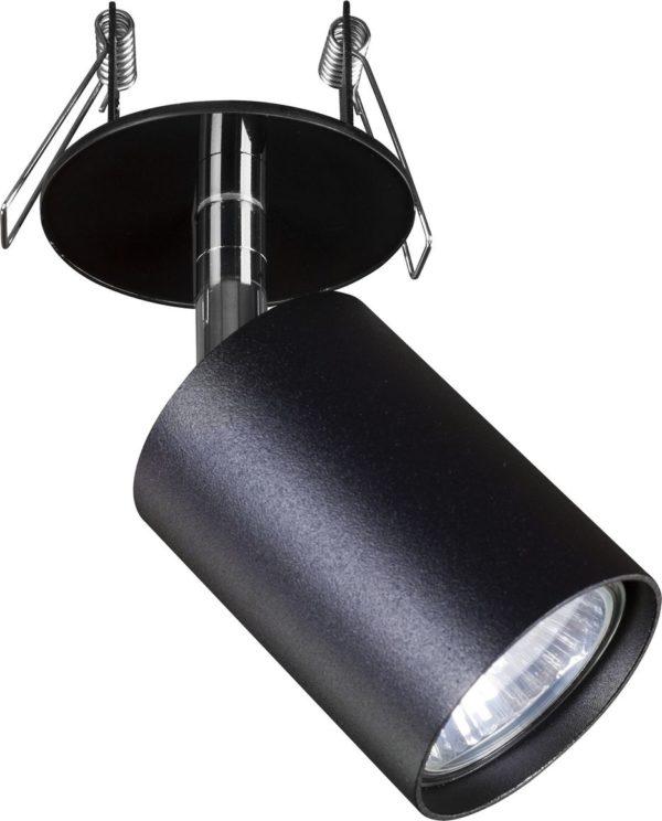 Notranja svetilka stropna vgradna EYE FIT I, BLACK, Nowodvorski, GU10, črna