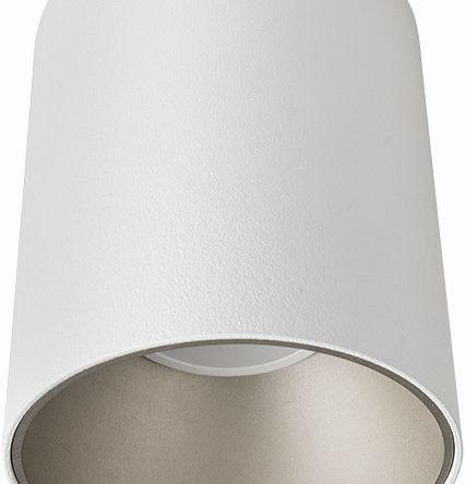Notranja Stropna, EYE TONE, belo/srebrna, Nowodvorski, 1xGU10, samo LED, IP20