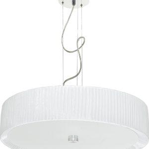 LED Notranja Stropna, ALEHANDRO white zwis, 60W, 3xE27, IP20
