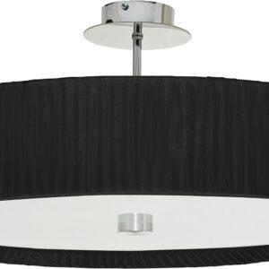 LED Notranja Stropna, ALEHANDRO black ceiling, 60W, 3xE27, IP20