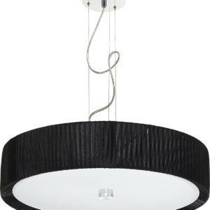 LED Notranja Stropna, ALEHANDRO black zwis, 60W, 3xE27, IP20
