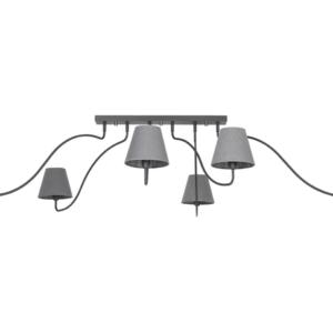 LED Notranja stropna, SWIVEL GRAPHITE, 40W, 1xE14, IP20