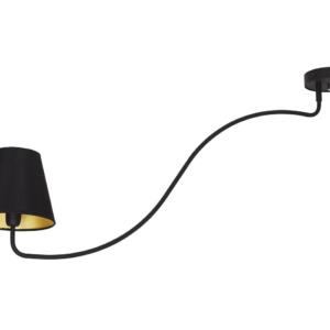 LED Notranja stropna, SWIVEL BLACK, 40W, 1xE14, IP20