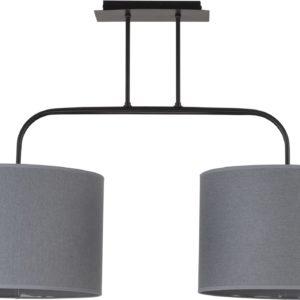 LED Notranja Stropna, ALICE gray overhang, 100W, 2xE27, IP20