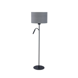 LED Notranja stoječa, HOTEL PLUS gray, 60W, 1xE27,1xG9, IP20