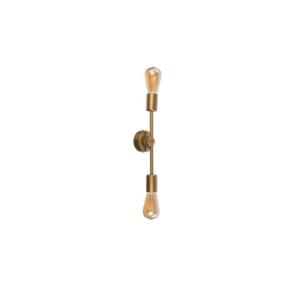 Notranja stropna dekorativna svetilka, Sticks gold II, 60W, 2xE27, IP33, 230V