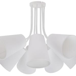 LED Notranja stropna, FLEX SHADE WHITE, 60W, 7xE27, IP20