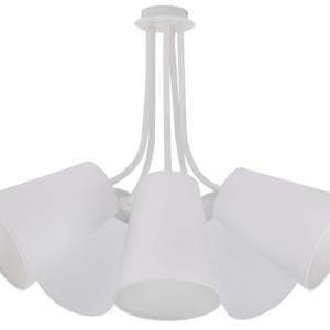 LED Notranja stropna, FLEX SHADE WHITE, 60W, 5xE27, IP20