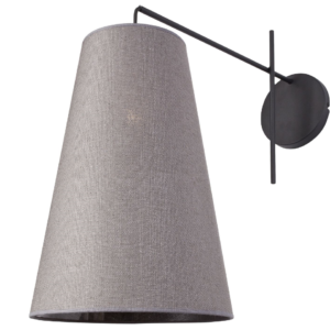 LED Notranja , ALANYA gray I, 60W, 1xE27, IP20