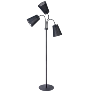 LED Notranja stoječa, FLEX SHADE BLACK, 60W, 3xE27, IP20