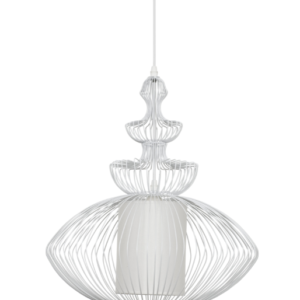 Notranja stropna dekorativna svetilka, Aida white , 40W, 1xE27, IP20, 230V
