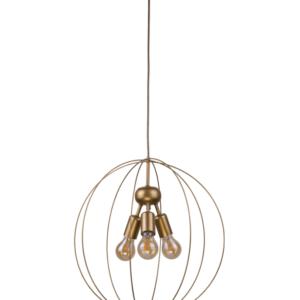 Notranja stropna dekorativna svetilka, Bullet, 60W, 3xE27, IP20, 230V