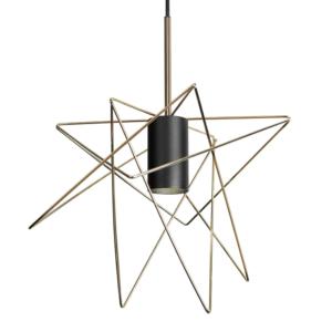 Notranja stropna dekorativna svetilka, Gstar black, 35W, 1xGU10, IP33, 230V