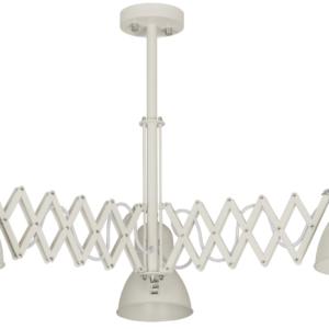 Notranja stropna dekorativna svetilka, Harmony white III, 1xE27, 60W, IP20, 230V