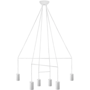 Notranja stropna dekorativna svetilka, Imbria White VI, 35W, 6xG10, IP20, 230V