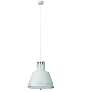 Notranja stropna dekorativna svetilka, Industrial M white I, 1xE27, 60W, IP20, 230V
