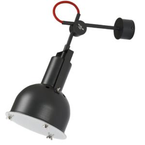 Notranja stenska dekorativna svetilka, Industrial S graphite I, 1xE27, 60W, IP20, 230V