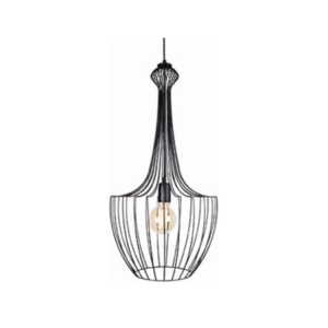 Notranja-stropna-dekorativna-svetilka-Luksor-black-S-60W-1xE27-IP33-230V