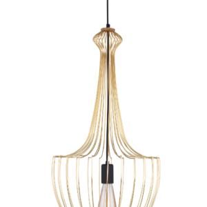 Notranja-stropna-dekorativna-svetilka-Luksor-gold-S-60W-1xE27-IP33-230V