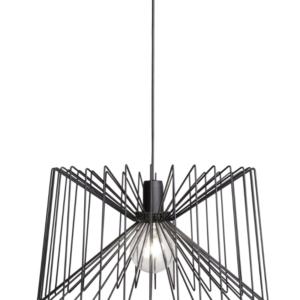 Notranja stropna dekorativna svetilka, Ness black, 60W, 1xE27, IP20, 230V