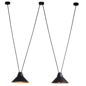 Notranja stropna dekorativna svetilka, Perm II, 60W, 1xE27, IP20, 230V