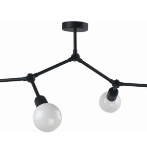 Notranja stropna dekorativna svetilka,Twig IV, 60W, 4xE27, IP20, 230V