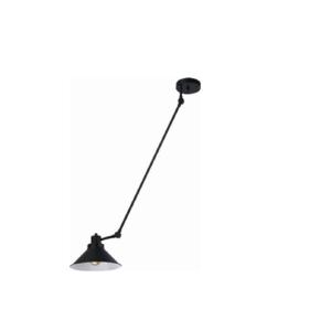 Notranja stropna in stenska dekorativna svetilka, Techno I, 60W, 1xE27, IP20, 230V