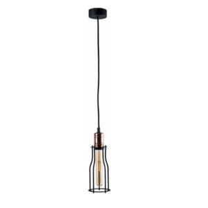 Notranja stropna dekorativna svetilka, Workshop I A, 60W, 6xE27, IP20, 230V