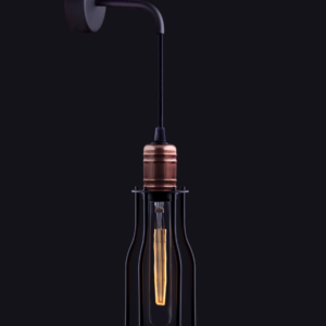Notranja stenska dekorativna svetilka, Workshop I kinkiet A, 60W, 1xE27, IP20, 230V