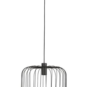 Notranja stropna dekorativna svetilka, Allan black, 30W, 1xGU10, IP20, 230V