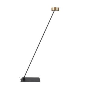 Notranja namizna dekorativna svetilka, LED Cyclon goldblack, 10W, IP20, 230V