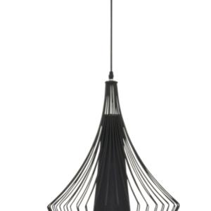 Notranja stropna dekorativna svetilka, Karen black, 40W, 1xE27, IP33, 230V