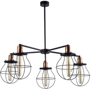 Notranja stropna dekorativna svetilka, Manufacture V, 60W, 5xE27, IP20, 230V