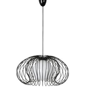 Notranja stropna dekorativna svetilka, Mersey black, 60W, 1xE27, IP20, 230V