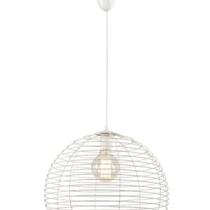 Notranja stropna dekorativna svetilka, Perth white, 60W, 1xE27, IP20, 230V