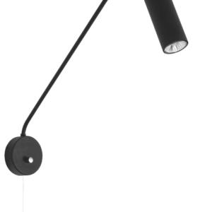 Notranja stenska dekorativna svetilka, Eye super black I, 35W, 1xG10, IP20, 230V