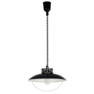 LED Notranja stropna, UFO black, 60W, 1xE27, IP20