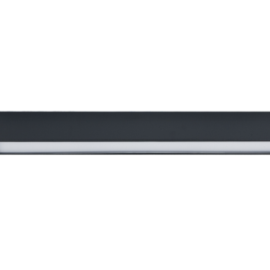 LED Notranja stropna, STRAIGHT LED graphite S, 22W, 1xT8, IP20