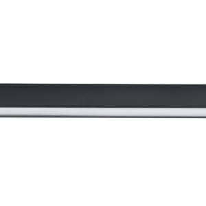 LED Notranja stropna, STRAIGHT LED graphite M, 22W, 1xT8, IP20