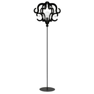 LED Notranja stoječa, KATERINA black, 60W, 1xE27, IP20