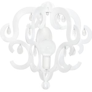 LED Notranja stenska, KATERINA white, 60W, 1xE27, IP20