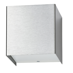 Notranja stenska, CUBE silver, 1xG9, 50W, IP20, 230V